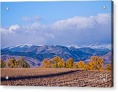 Colorado Autumn Morning Scenic View Acrylic Print by James BO  Insogna