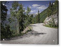 Colorado Backroads Acrylic Print by Graham Hughes