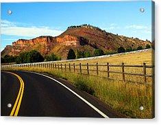 Colorado Curve Acrylic Print by Ric Soulen