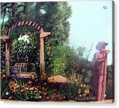 Colorado Flower Garden 2 Acrylic Print by Stephen  Hanson