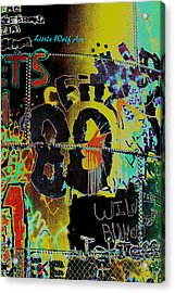 Colorado Graffiti Acrylic Print