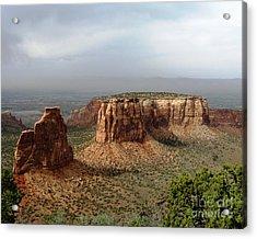 Colorado National Monument Acrylic Print by Patricia Januszkiewicz