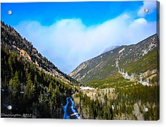 Acrylic Print featuring the photograph Colorado Road by Shannon Harrington