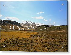 Colorado Spring Time Acrylic Print