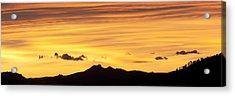 Colorado Sunrise Landscape Acrylic Print by Beth Riser