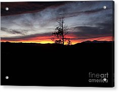 Colorado Sunset Acrylic Print by Angelique Olin