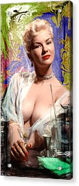 Colored Martini Acrylic Print by Robert Smith