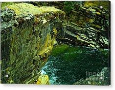 Colored Rocks  Acrylic Print