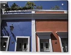 Colorful Architecture In Old San Juan Acrylic Print by Scott S. Warren