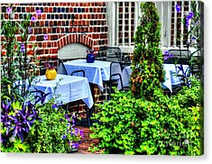 Colorful Dining Acrylic Print by Debbi Granruth