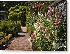 Colorful Flower Garden Acrylic Print