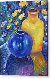 Colorful Jars Acrylic Print