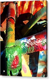Colorful  Acrylic Print by Malania Hammer