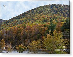 Colorful Mountain Acrylic Print