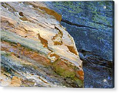 Colorful Rocks Acrylic Print by Milena Ilieva