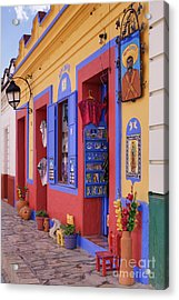 Colorful Storefront Acrylic Print by Jeremy Woodhouse