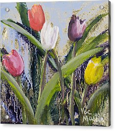 Colorful Tulip Series Acrylic Print
