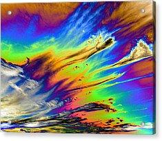 Colors Acrylic Print by Kathleen Nash
