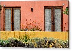 Colors Of Santa Fe Acrylic Print by Fraida Gutovich