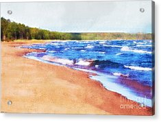 Acrylic Print featuring the photograph Colors Of Water by Phil Perkins