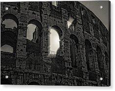Colosseum Acrylic Print by Michael Avory