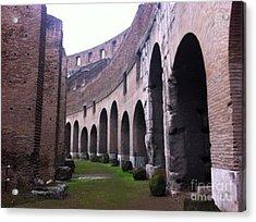 Colosseum Vomitorium Acrylic Print by Richard Chapman