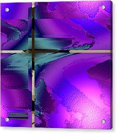 Colour Blitz IIi Acrylic Print