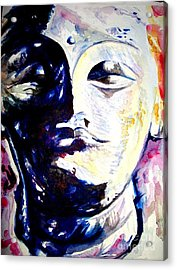 Colour Study Acrylic Print by Nishit Dey