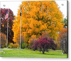 Colours Of Fall Acrylic Print