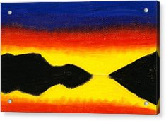 Colours Of Sky 2 Acrylic Print by Hakon Soreide