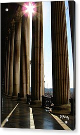 Acrylic Print featuring the photograph Columns by Patrick Witz