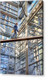 Comcast Man Hdr Acrylic Print