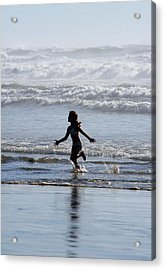 Come As A Child Acrylic Print by Holly Ethan