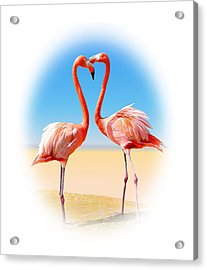 Come Fly With Me Acrylic Print by Kristin Elmquist