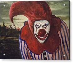 Acrylic Print featuring the painting Come With Me To The Circus by James Guentner