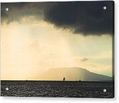 Acrylic Print featuring the photograph Comes The Storm by Odon Czintos