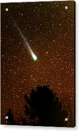 Acrylic Print featuring the photograph Comet Hyakutake by Rick Frost