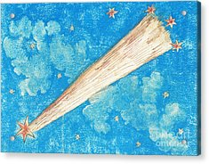 Comet Acrylic Print by Science Source