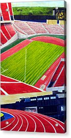 Commonwealth Stadium- Competition Acrylic Print by Chris Ripley