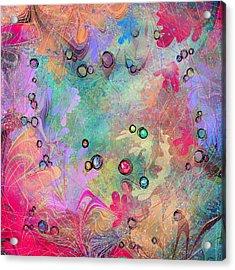 Community Acrylic Print by Rachel Christine Nowicki