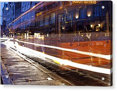 Commuter Bus Acrylic Print