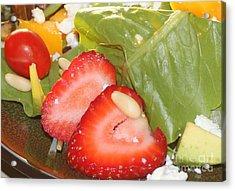 Complimentary Salad Acrylic Print