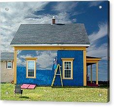 Composite - Blue Sky House Acrylic Print