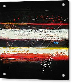 Composition Bl Acrylic Print by Mohamed KHASSIF
