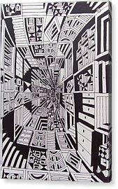 Conceito Acrylic Print by Mario Fresco