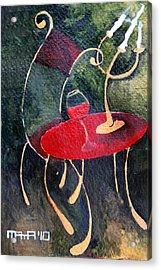 Concert For Single Chair Acrylic Print
