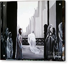 Condemned Acrylic Print by Lisa Ivey
