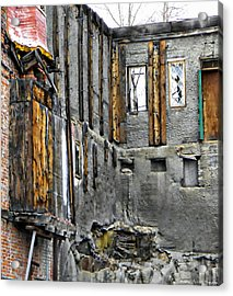 Condemned Acrylic Print by Michelle Frizzell-Thompson