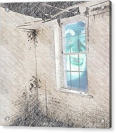 Condemned Past - A Self Portrait Acrylic Print