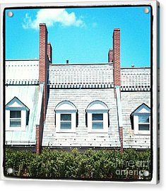 Condos In Portsmouth New Hampshire Acrylic Print by Christy Bruna